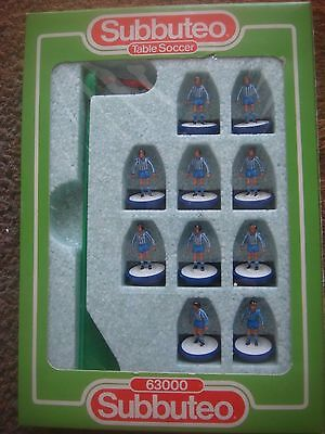 Boxed Subbuteo 63000 Lightweight Team Sheff Weds Goteborg - Reference: 487