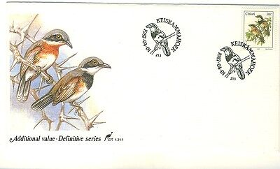 Ciskei 1987 - 16c. Batis Capensis First Day Cover.- Unaddressed