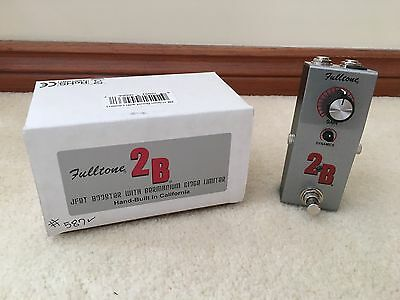 Fulltone 2B boost buffer limiter guitar effects FX pedal