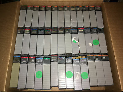 LOT of 50+ Allen Bradley SLC500 Modules and 1746-A7 / 1746-A10 Rack with PS