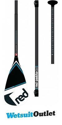 2017 Red Paddle Co Carbon Vario Travel 3 Piece SUP Paddle - Lever Lock - Black H