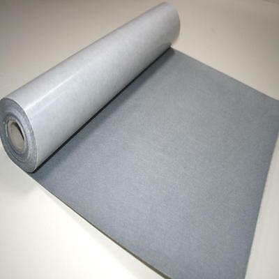 BS EN 71 GREY Sticky Self Adhesive Felt Baize Fabric Mini 5m Rolls UK MADE