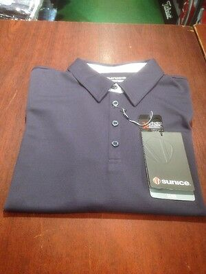 Sunice Ladies Golf Shirt. Size XXL. Charcoal. Flow-Dry Material. NEW