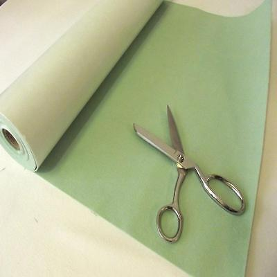 BS EN 71 MINT GREEN Sticky Self Adhesive Felt Baize Fabric Mini 5m Rolls UK MADE
