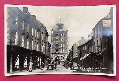 The Clock Gate And South Main Street, Youghal, Pu Woolstone, Rp, Posted 1935