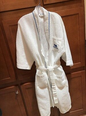 Princess Cruise Belted Waffle Robe One Size Lounge Bath Spa Baltic Linen