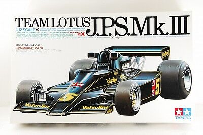 TAMIYA 1/12 TEAM LOTUS BIG SCALE SERIES J.P.S.LOTUS 78 Mk.Ⅲ VERY RARE!!