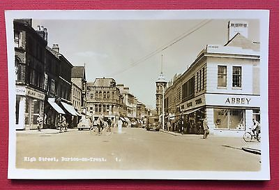 High Street, Burton-On-Trent, Pu Bourne, Real Photographic, Unposted