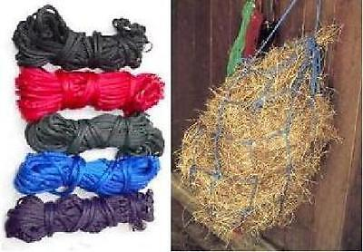 "Harlequin Quality Hay Nets, 42"", 9-ring, Horse/Pony, Many Colours!"
