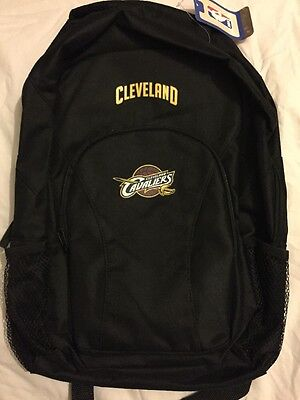 Black Cleveland Cavaliers Draft Day Black Backpack- No Size, New