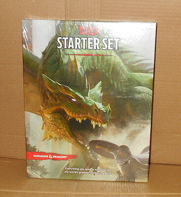 *NEW* Dungeons and Dragons Starter Set D&D 5 Fifth Edition 5 ed *SEALED*