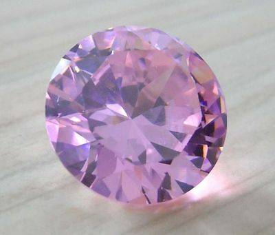 RARE VVS 1 : 11,39 Ct  :100 % NATUREL : ZIRCON ROSE