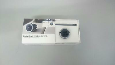 Genuine BMW DOUBLE USB Cigarette Charger Adaptor 65412411420