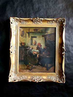 Found in the attic oil painting 18/19th century