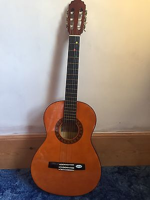Valencia 3/4 Size Guitar, Case & Foot Stool