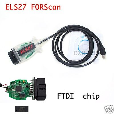 2017 ELS27 FORScan Scanner OBD2 Diagnostic For Ford F150 Focus Explorer Ranger