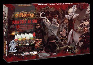 ARMY PAINTER WARPAINTS The Others: Paint Set of Sin