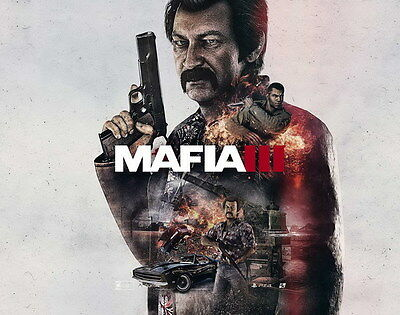 """014 Mafia 3 - Action Role Play Game 17""""x14"""" Poster"""