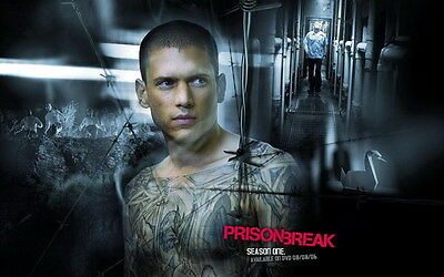 "038 Wentworth Miller - Prison Break American Actor 22""x14"" Poster"