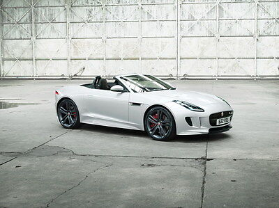 "033 Jaguar - F-TYPE XE XJ XFL Super Racing Car 32""x24"" Poster"