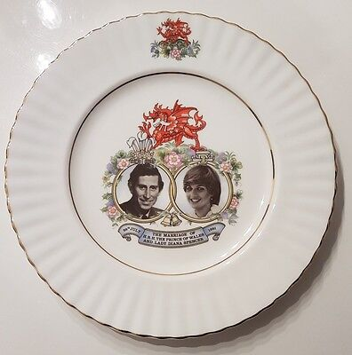 Prince Charles and Lady Diana Wedding Commemorative Plate