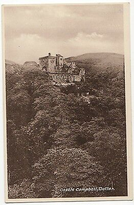 Castle Campbell, Dollar ~ An Old Postcard  (7D23)