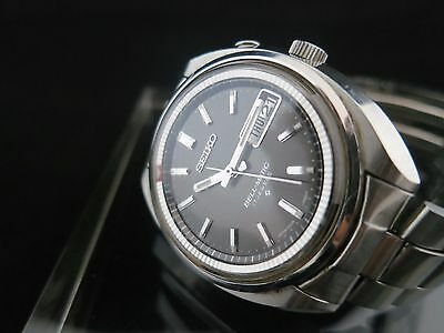 Watch Vintage Seiko 1972  4006-7002 Bellmatic Automatic  Day/Date (black board)