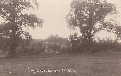 The Strouds, Country House, Bradfield, Berkshire. Rp, 1917.