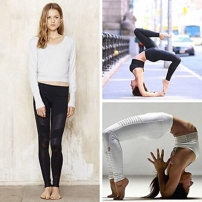 Best Quality Womens White Leggings Fitness Activewear Thick 330gsm Spandex S M L