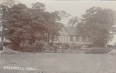 Eriswell Hall, Country House, Suffolk. Rp, C1920.