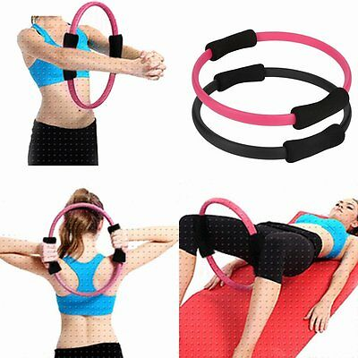 Pilates Ring Magic Circle Dual Grip Sporting Goods Yoga Ring Exercise Fitness WS