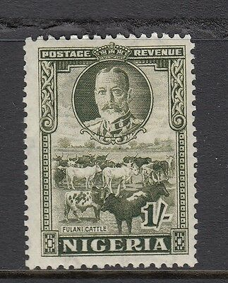 NIGERIA STAMPS  - 1936 - SG41 - 1/ sage green - lightly mounted mint