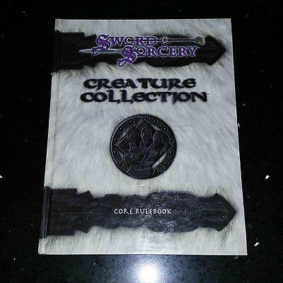 Sword & Socery Creaturs Collection core Rulebook