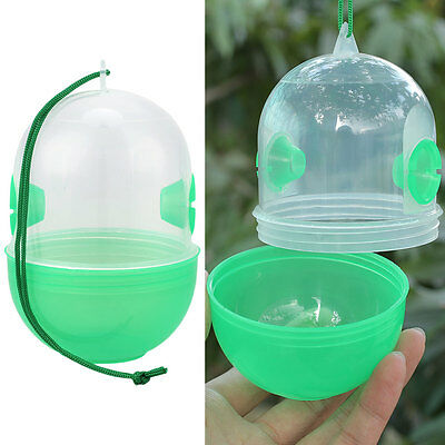 Bee Trapper Fly Flies Hornet Trap Catcher Hanging On Tree Keeping Tools Plastic