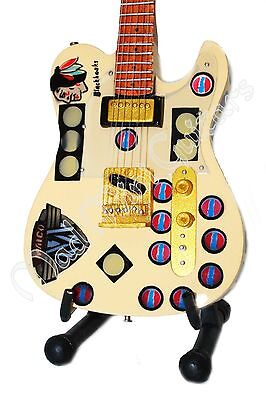 Miniature Guitar TERRY KATH with free stand TERRYCASTER Chicago