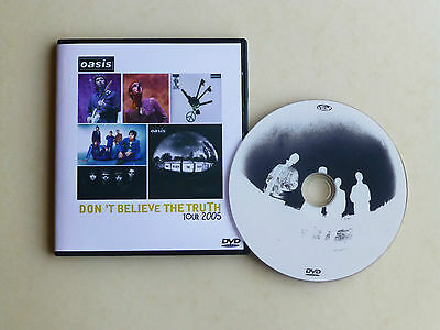 OASIS live DON'T BELIEVE THE TRUTH TOUR 2005 LIVE DVD