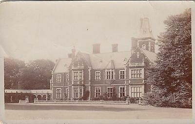 Slow Hall, Country House, Downham Market, Norfolk. Rp, C1920.