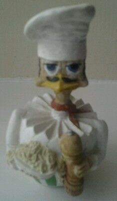 Vintage Collectible Eggbert Speggetti EG153 Chef Figurine