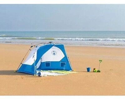 *NEW* Coleman Instant Sundome Large 4 Man Beach Shelter UVGuard 🌞🏖🌞🏕