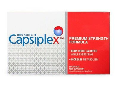 Capsiplex Premium Strength Fat Burner & Natural Diet and Weight Loss Supplement