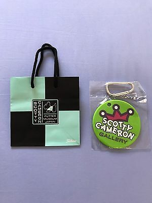 Scotty Cameron Bag Tag/Putting Disc Wasabi Warrior