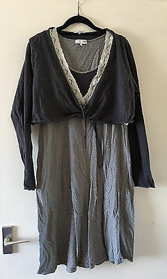 Next Maternity Nightdress & Shrug 14 / 12