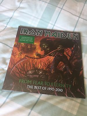 Iron Maiden From Fear To Eternity 3 Picture Disc New