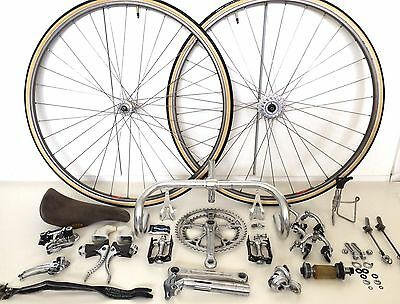 Vintage Campagnolo Super Record Groupset Very Nice Condition Complete