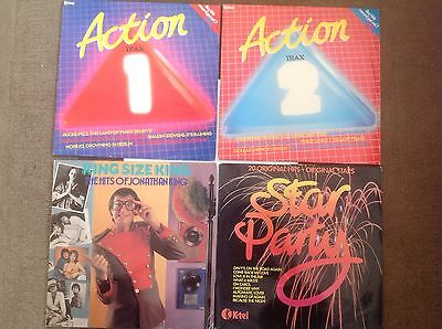 4 X Compilation Albums LP Vinyl Records Vgc