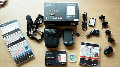 Satmap active 10 Plus complete with GB 1:50000 OS Map & additional map cards.
