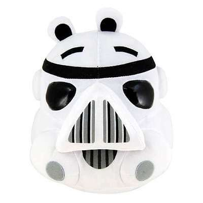 Peluche Angry Birds Stormtrooper 13 cms. Oficial / White Official Soft Plush Toy