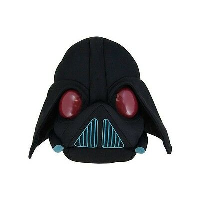 Peluche Angry Birds Negro Darth 13 cms. Oficial / Black Official Soft Plush Toy