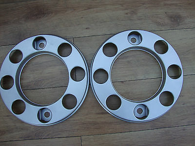 Daf 55 2 X  Eight Stud Steel Wheel Trims Tidy