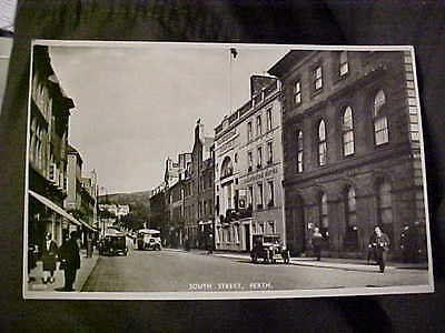 Old postcard  South Street Perth.real photo.Scotland